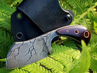 Custom Cleaver Knife 349